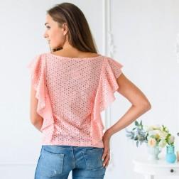 Блузка из лососевого шитья