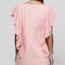 Платье из лососевого шитья