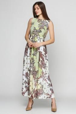 Платье из вискозы с орнаментом