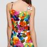 Комбинезон с принтом Летние цветы