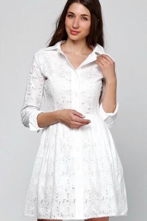 Платье рубашка из шитья