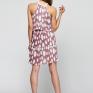 Платье из шифона плиссе