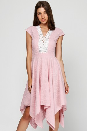 Платье из шитья Чайная роза