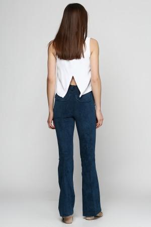Вельветовые брюки клеш