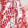 Платье на запах барбарис