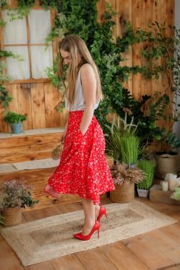 Красная юбка на запах