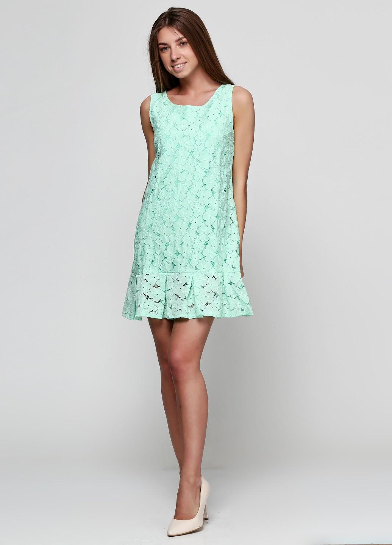 46afe4b3620 Платье-колокольчик из кружевного полотна П1140