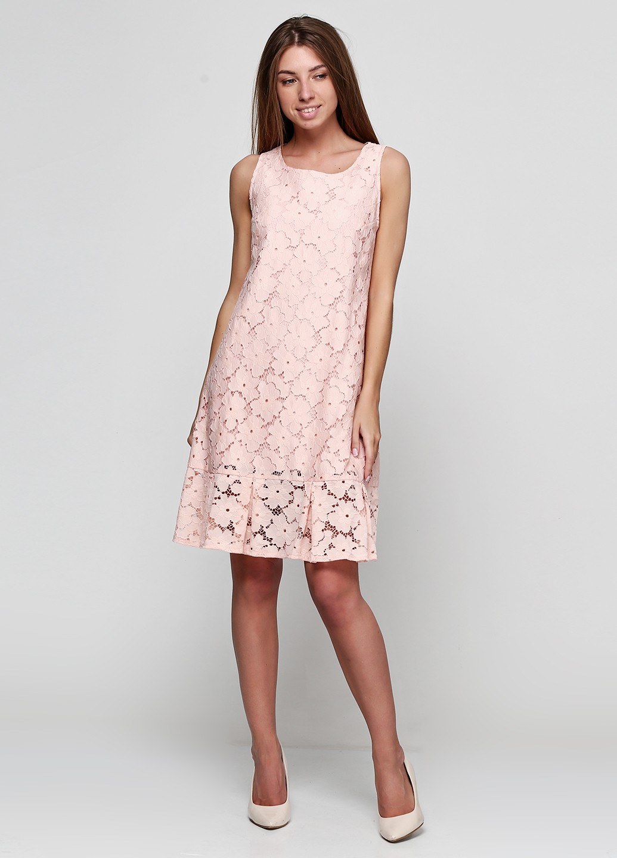 0780261d55b Платье-колокольчик из кружевного полотна П1540
